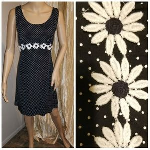 1990s sunflower dress